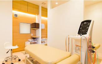 旭接骨院の診療室